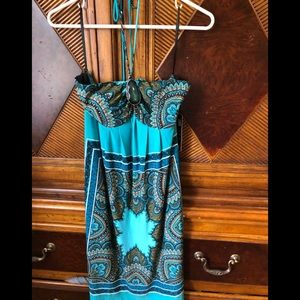 NWT Carole little halter mini dress sz 8